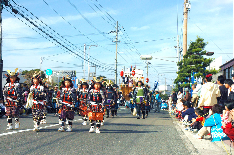 October Matsuura suigun(navy) fastival