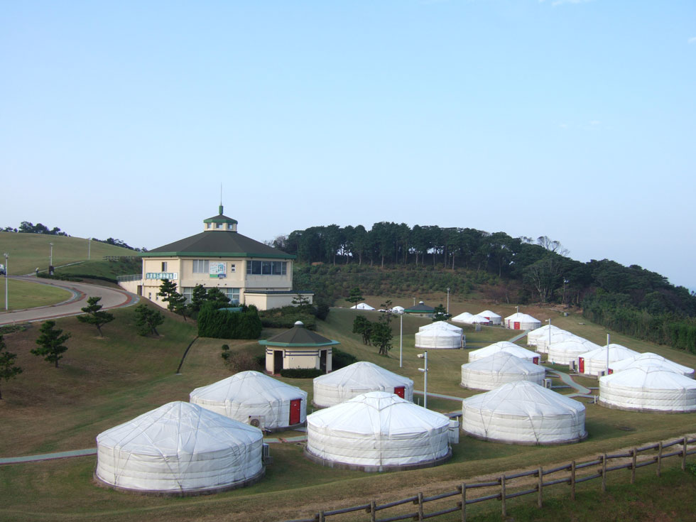 Mongolian village in Takashima