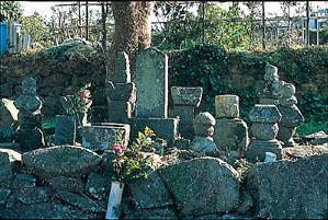丹後守盛公の墓