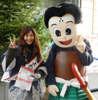 よかとこ大使の德田さんと松浦松之介です