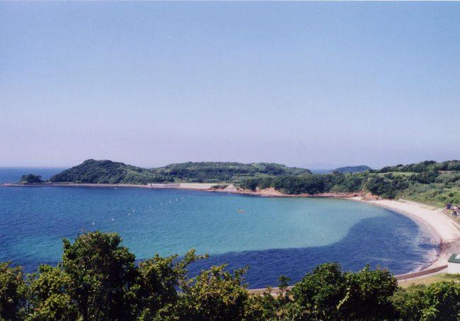 長崎県松浦市星鹿町青島 宝の浜海水浴場