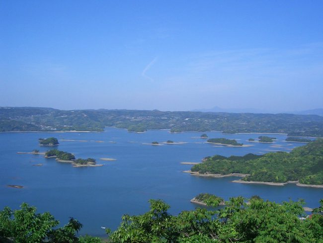 長崎県松浦市福島町 大山公園からの眺め